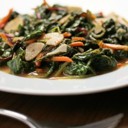 Spicy Sauteed Kale (Molli Mexico City Sauce)