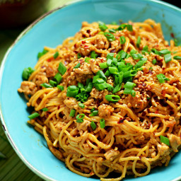 Spicy Sesame-Chili Noodles with Chicken