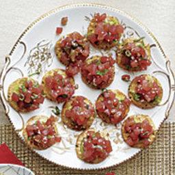 Spicy Sesame Tuna Tartare