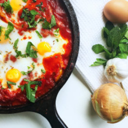 Spicy Shakshuka With Rose Harissa