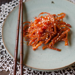 Spicy Shredded Squid