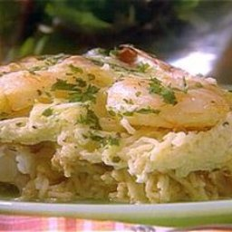Spicy Shrimp and Pasta Casserole