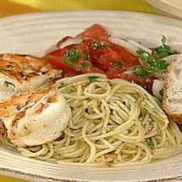 Spicy Shrimp and Spaghetti Aglio Olio (Garlic and Oil)
