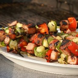 Spicy Spam Kabobs