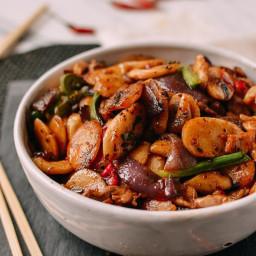 Spicy Stir-fried Rice Cakes