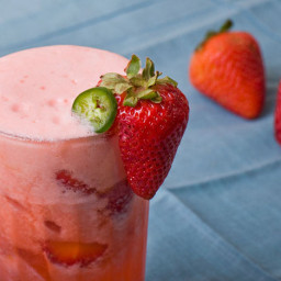 Spicy Strawberry-Jalapeño Lemonade Recipe