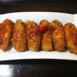 Spicy Sweet and Sour Peach Chicken Wings
