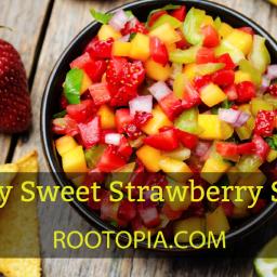 Spicy Sweet Strawberry Salsa