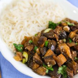 Spicy Szechuan-Style Eggplant