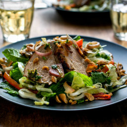 Spicy Thai Pork Tenderloin Salad