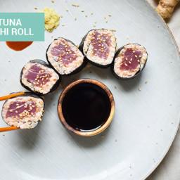 Spicy Tuna Keto Sushi Roll