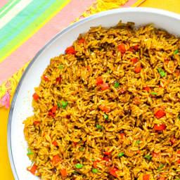 Spicy Turmeric Rice
