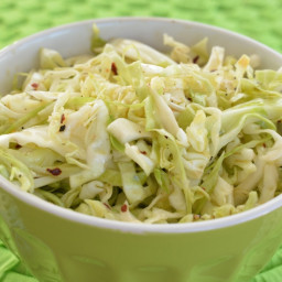 Spicy Vinegar Slaw