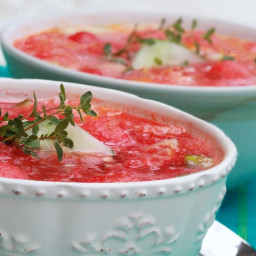 Spicy Watermelon Gazpacho