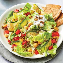 Spicy Zucchini Salad