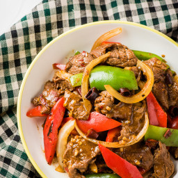 Spicy Beef Stir-Fry with Pepper