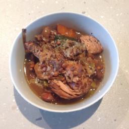 Spicy Chicken & Lentil Stew