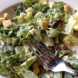 Spinach and Artichoke Caesar