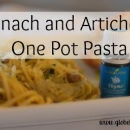 Spinach and Artichoke One Pot Pasta
