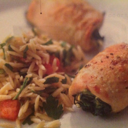 Spinach and Brie Chicken