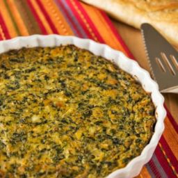 Spinach and Cheddar Cheese Casserole