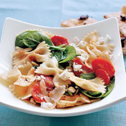 Spinach and Farfalle Salad