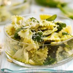 Spinach and Parmesan Pasta Salad