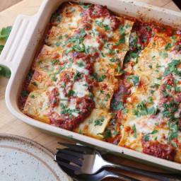 Spinach and Ricotta Manicotti Recipe