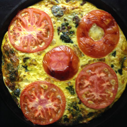 Spinach Beef Frittata