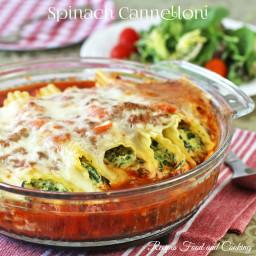 Spinach Cannelloni
