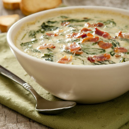 Spinach Dip with Bacon