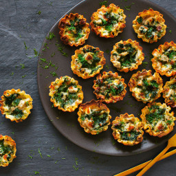 Spinach-Goat Cheese Phyllo Cups