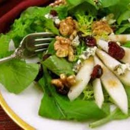 Easy Spinach & Pear Salad