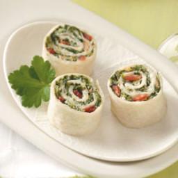 Spinach Roll-Ups Recipe