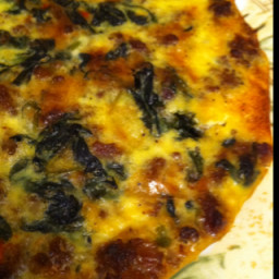 Spinach & Sausage Quiche
