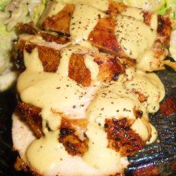 GT Express Spinach Stuffed Lemon Herb Chicken