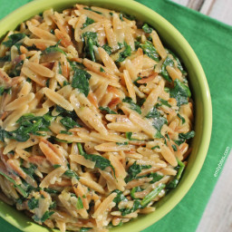 Spinach and Parmesan Orzo