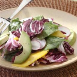 Spinach, Avocado  and  Mango Salad