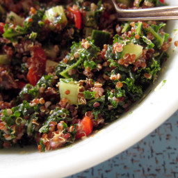 Spinach and Kale Tabbouleh
