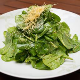 Nobu Matsuhisa Style Spinnach Salad