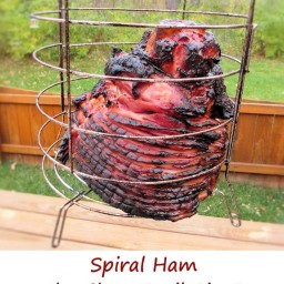 Spiral Ham on the Char-Broil Big Easy