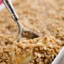Spiralized Apple Crisp Recipe