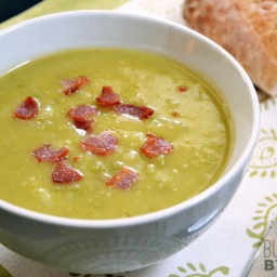 Split Pea, Bacon and Potato Soup
