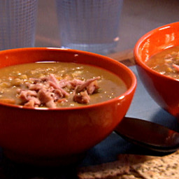 Split Pea Soup with Ham Hocks