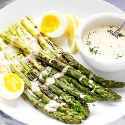 Spring Asparagus with Dijon Vinaigrette
