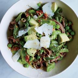 Spring Buckwheat Noodle Salad