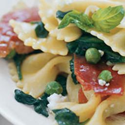 Spring Pasta With Crispy Prosciutto
