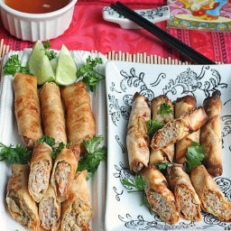 Spring Rolls / Egg Rolls – Baked and Fried
