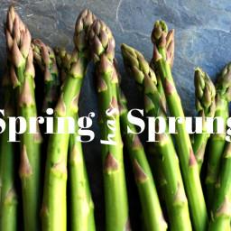 Spring has Sprung: Asparagus Salad
