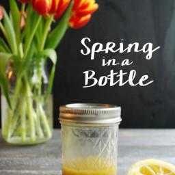 Spring in a Bottle: Lemon Vinaigrette